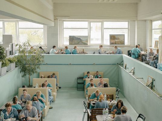 Surreal scenes inside Russia's battle against the pandemic