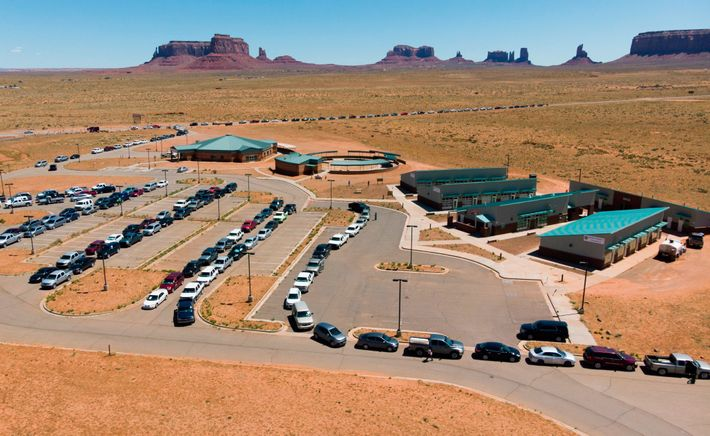 One third of the residents of Navajo Nation don't have clean water or indoor plumbing, which ...