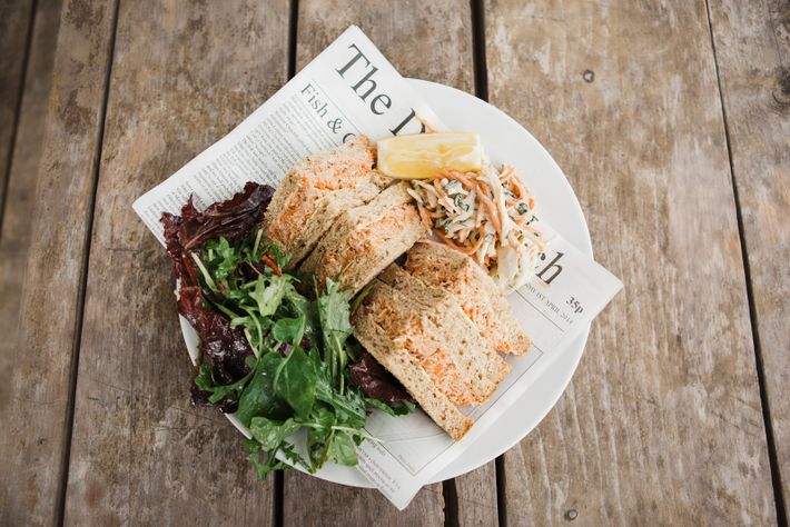 You can't get much more local in Dorset's Hive Beach Cafe than Portland crab served on ...