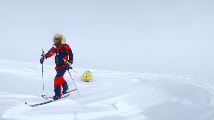 On December 13, O'Brady became the first to reach the South Pole in this epic trek ...