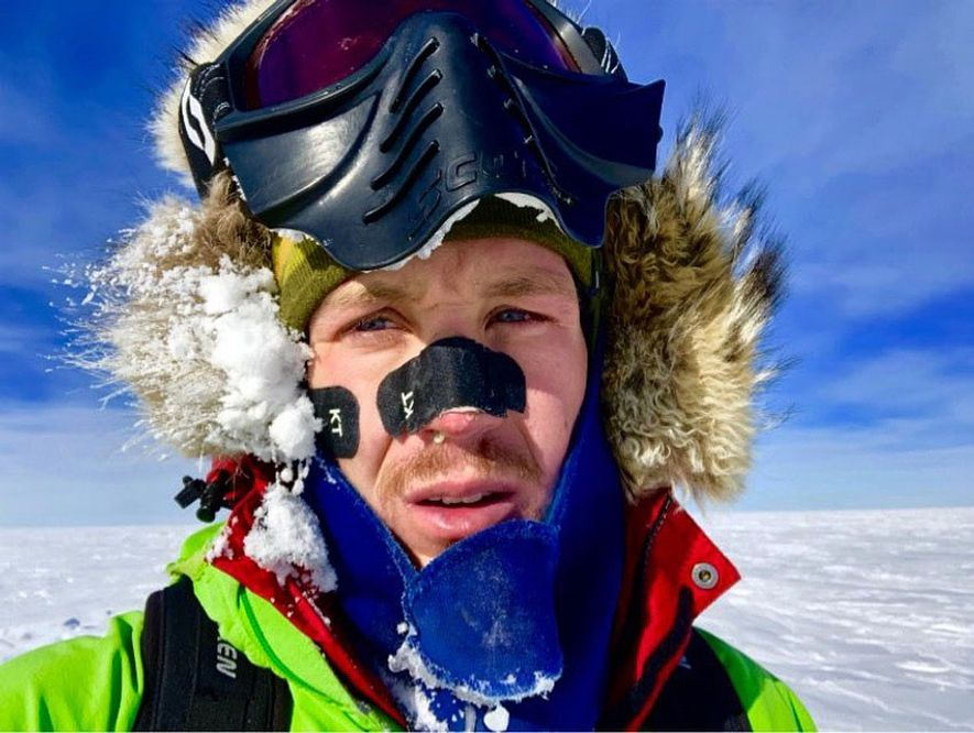 At the start of the nearly 900 mile journey, both Rudd and Colin O'Brady, 33, who is also attempting a solo, unsupported Antarctic crossing, were overwhelmed by the monumental difficulty the challenge. O'Brady wrote in an Instagram post that the fourth day of trekking was the first day he didn't cry into his goggles.