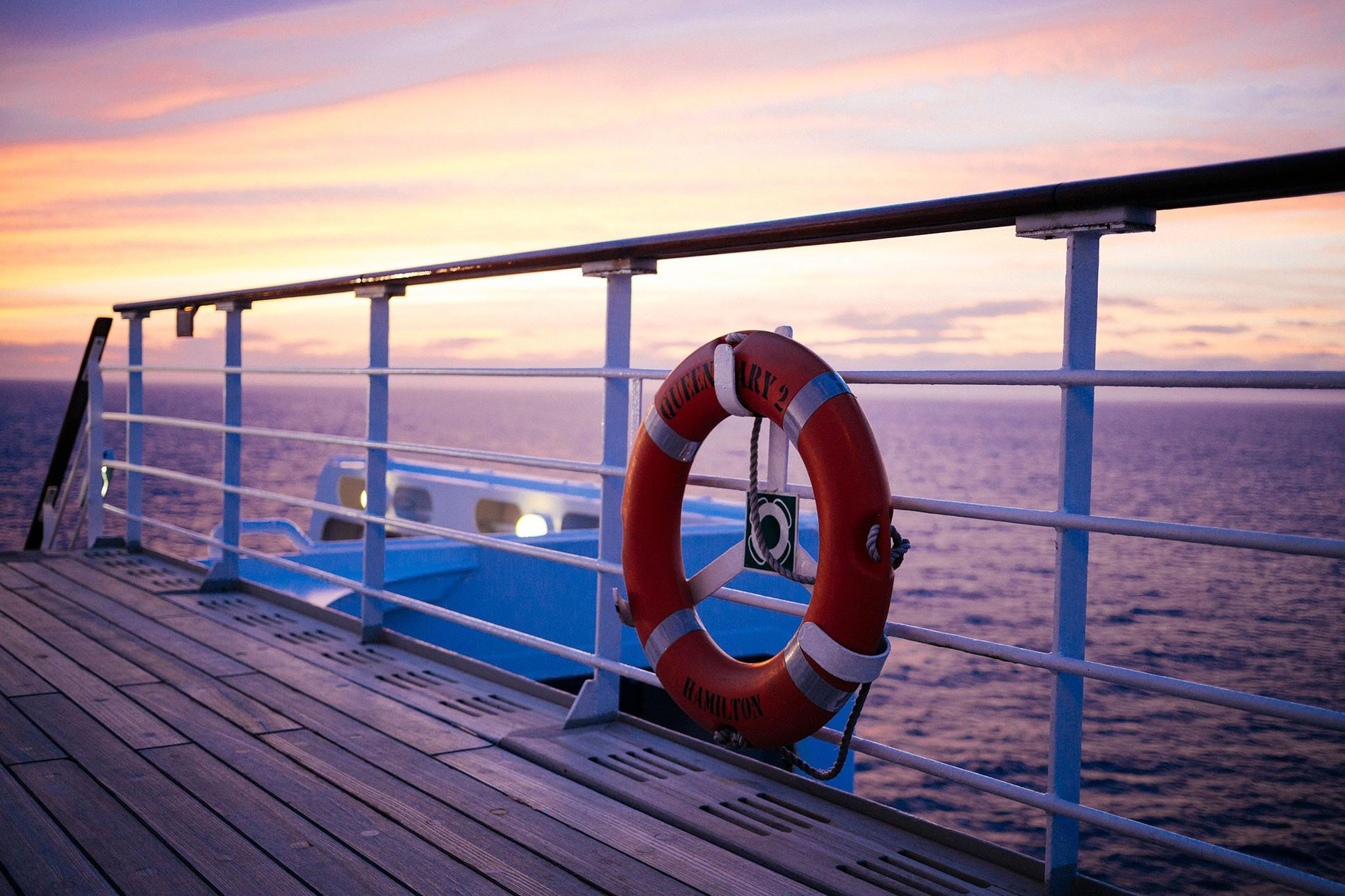 Cruise lines have regulations in place to prevent passengers from falling overboard.
