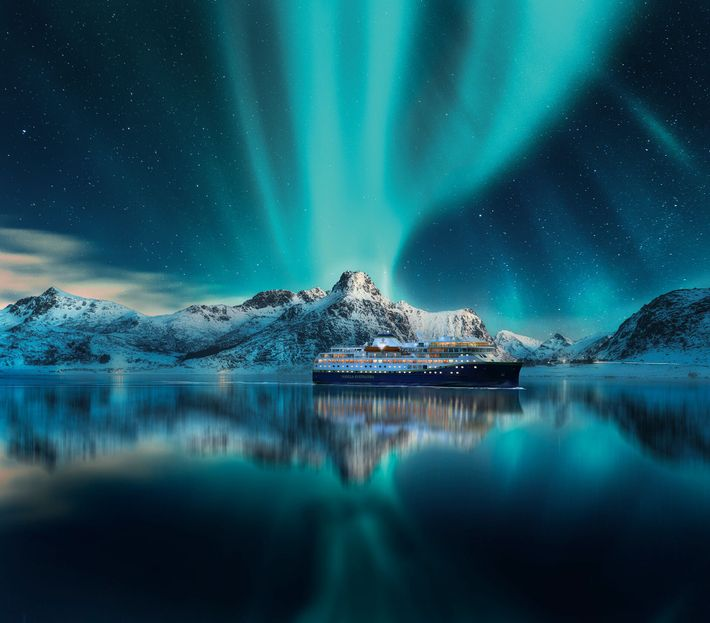 Aboard a Havila Voyages ship, sightings of the Northern Lights often come thick and fast, particularly ...