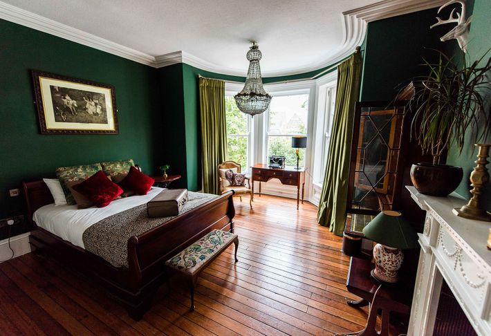 The C S Lewis Suite at The Harrison Chambers of Distinction, a quirky, arts-inspired abode in ...