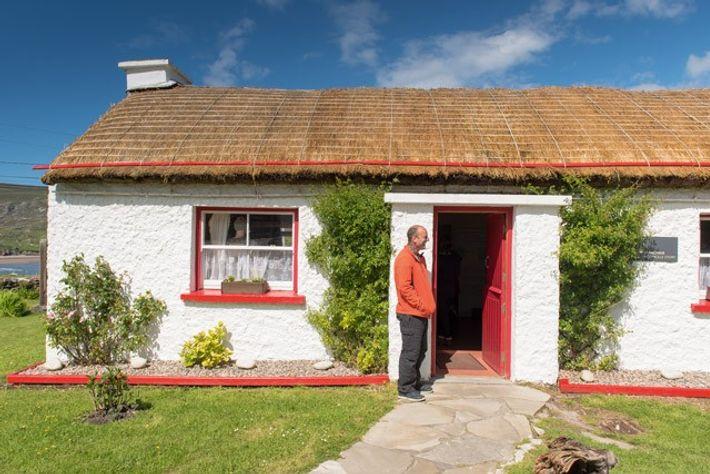 Glencolmcille Folk Village cottage. Image: Alecsandra Raluca Dragoi