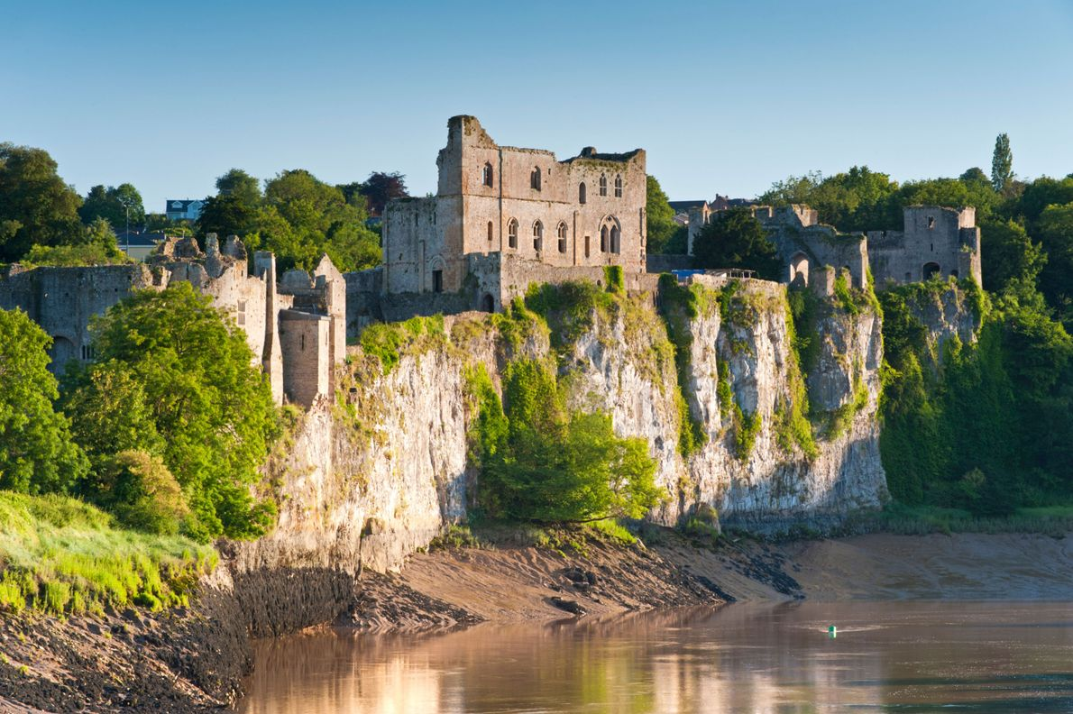 Where Wales meets England in the South-East of Wales is a landscape of forest, wooded gorges ...