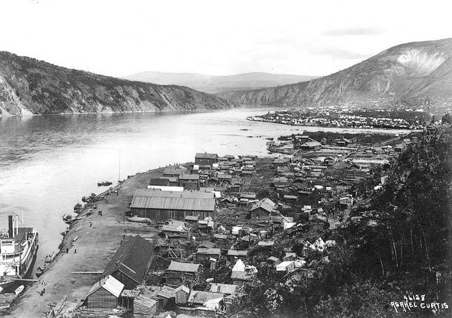 Dawson City became gold rush city in the final years of the 19th century. The dichotomy ...