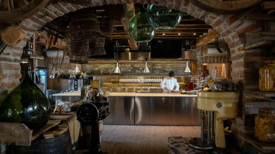 Hosteria del Maiale ('Tavern of the Pig') is known for its Aunt Emilia Lasagne, an exemplary, ...