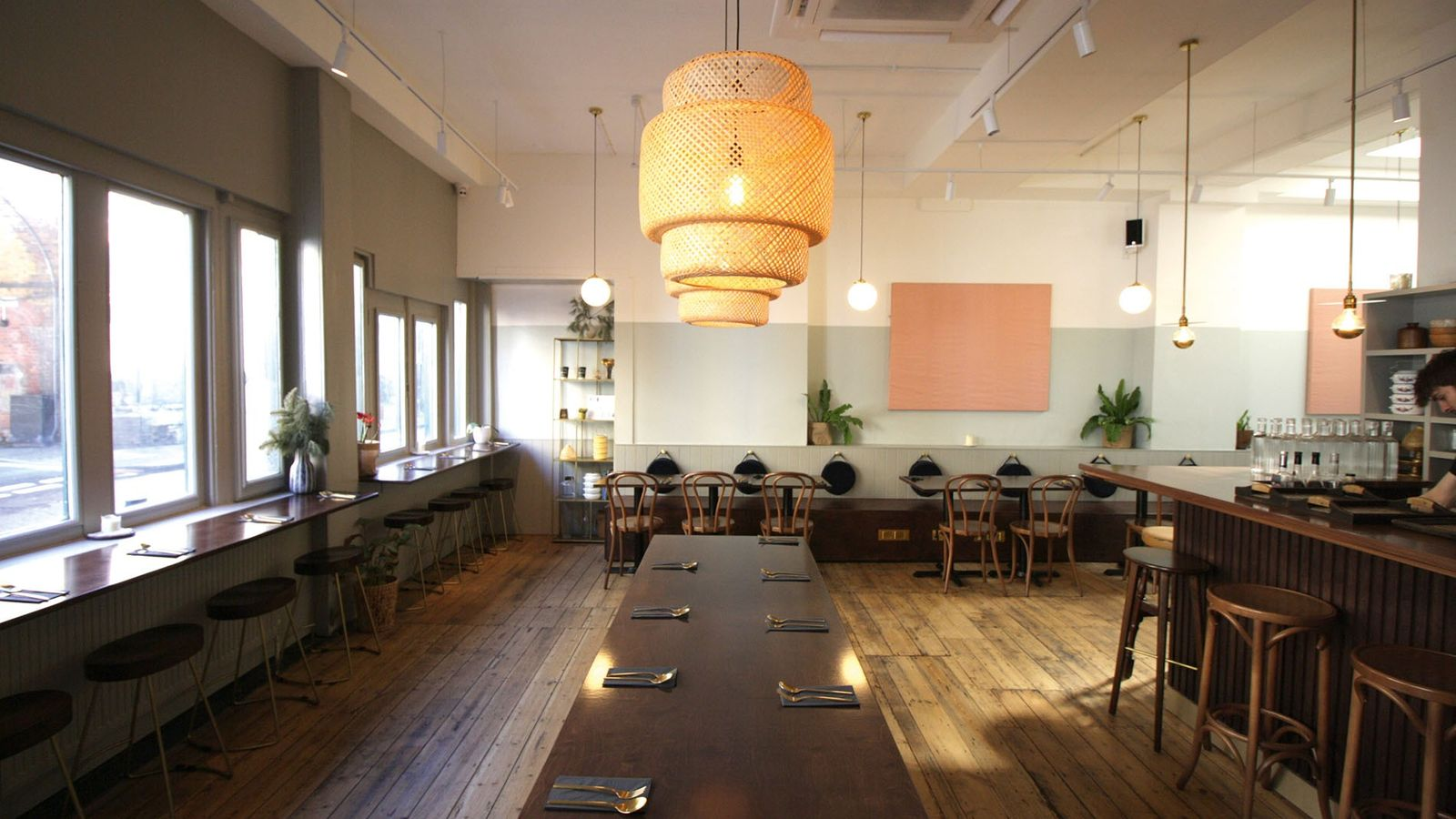 Dining room at Kin + Deum