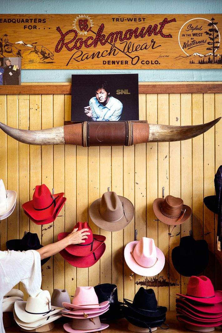 Choose your hat at Rockmount Ranch Wear's flagship store.