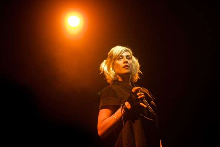 Travel has had a profound influence on the creativity of Dessa, shown performing at the El ...