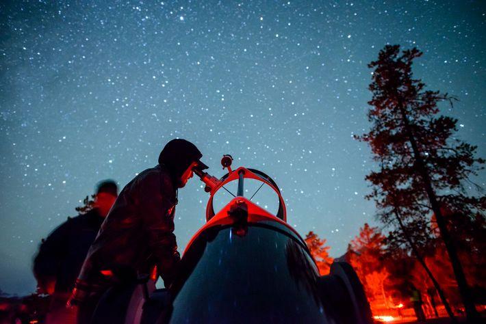 The Dark Sky Festival in Jasper is a stargazing celebration under the clearest of night skies, ...