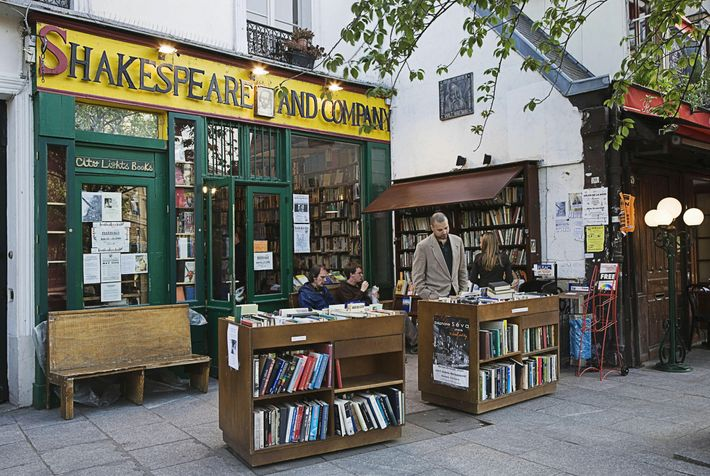 Shakespeare and Company — the historic hangout of luminaries including William Burroughs and Anaïs Nin — today faces a ...