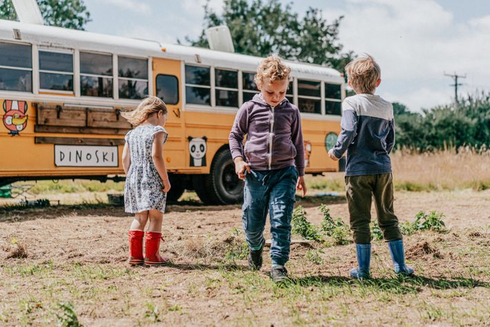 From late July to the end of October, Roarsome Adventures' American school buseswill be available to ...