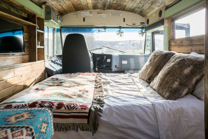 Billed as 'Skoolie staycations, for families who are wild at heart', Roarsome Adventures bringsits cosy converted ...