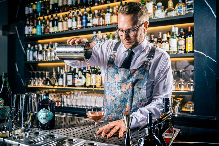 Dirk realised early on the potential of cocktails as a liquid kitchen, and bar work puts ...