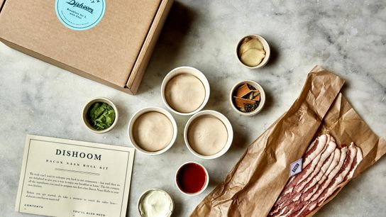 Indian chain Dishoom has distilled its beloved bacon naan roll into a set of pots of ...