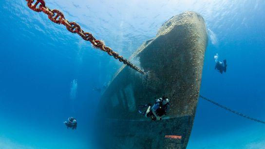 Kittiwake Wreck, Cayman Islands