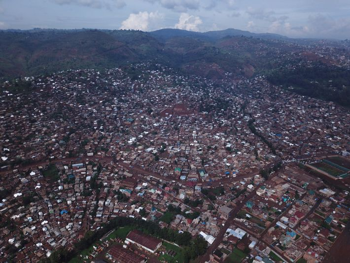 Bukavu, in the Democratic Republic of the Congo.