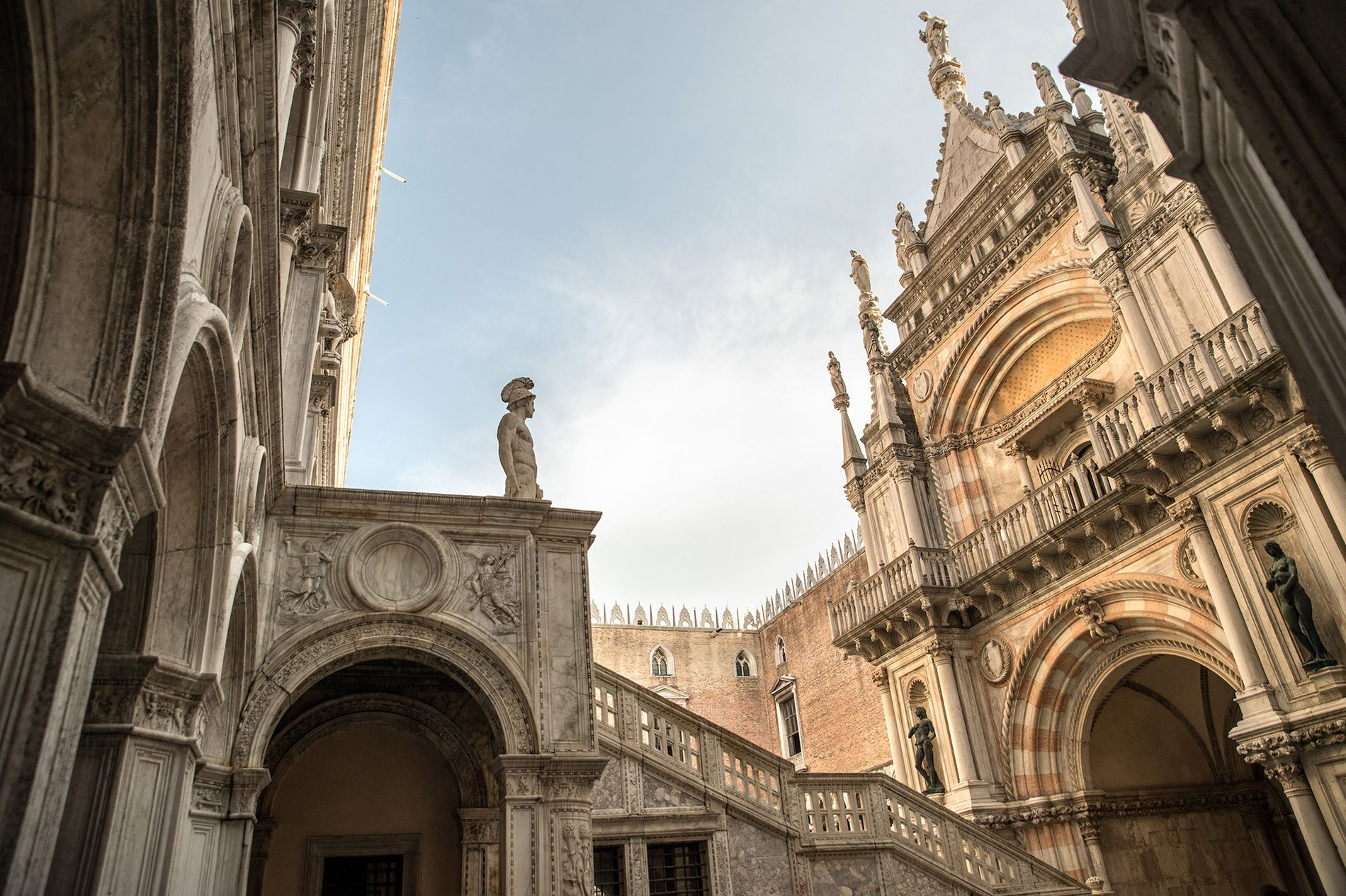 Once the seat of Venetian government, the Doge's Palace stands as the symbol of Venice and a masterpiece of Gothic architecture.