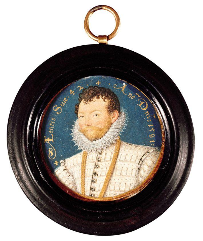 Mini portrait of Francis Drake