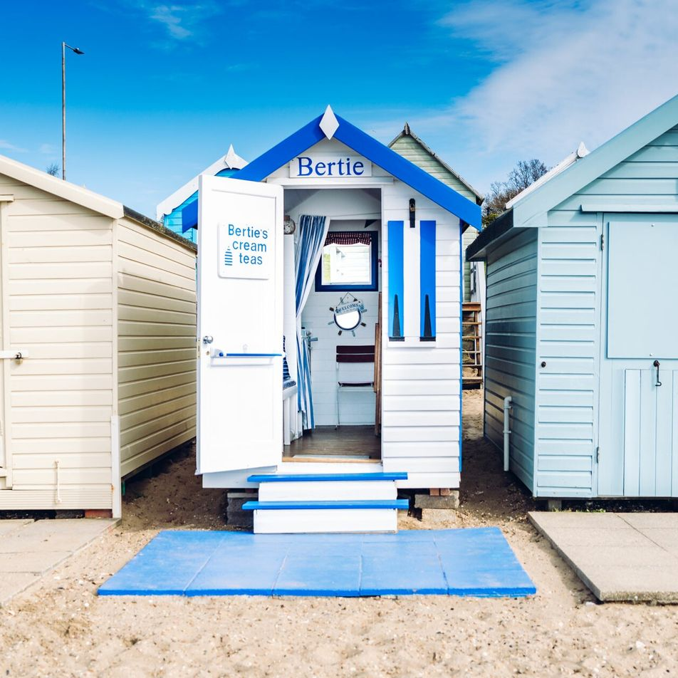 Seven of the best family beach huts for hire this summer