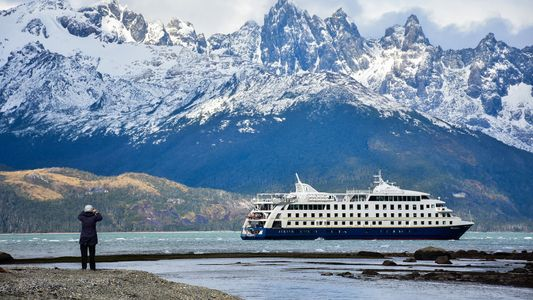 Mapping out the Tierra del Fuego in southern Argentina and Chile