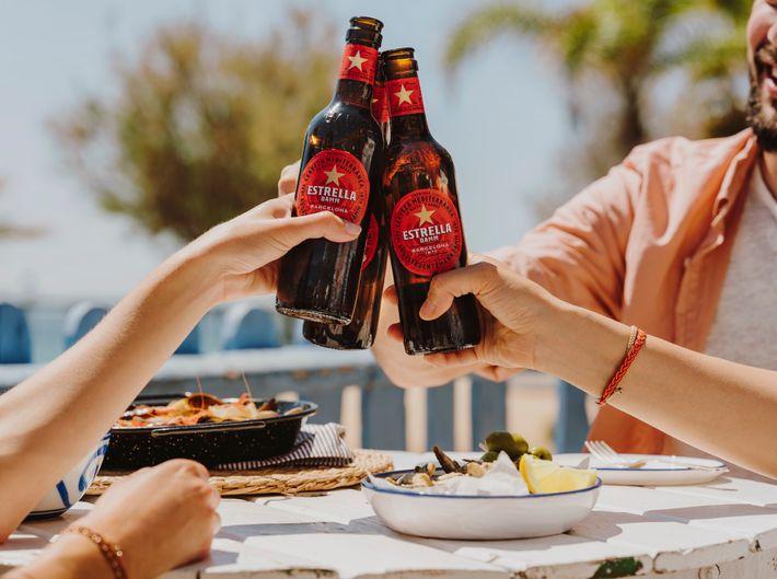 Impressively, Estrella Damm has been brewed to the original recipe since 1876.