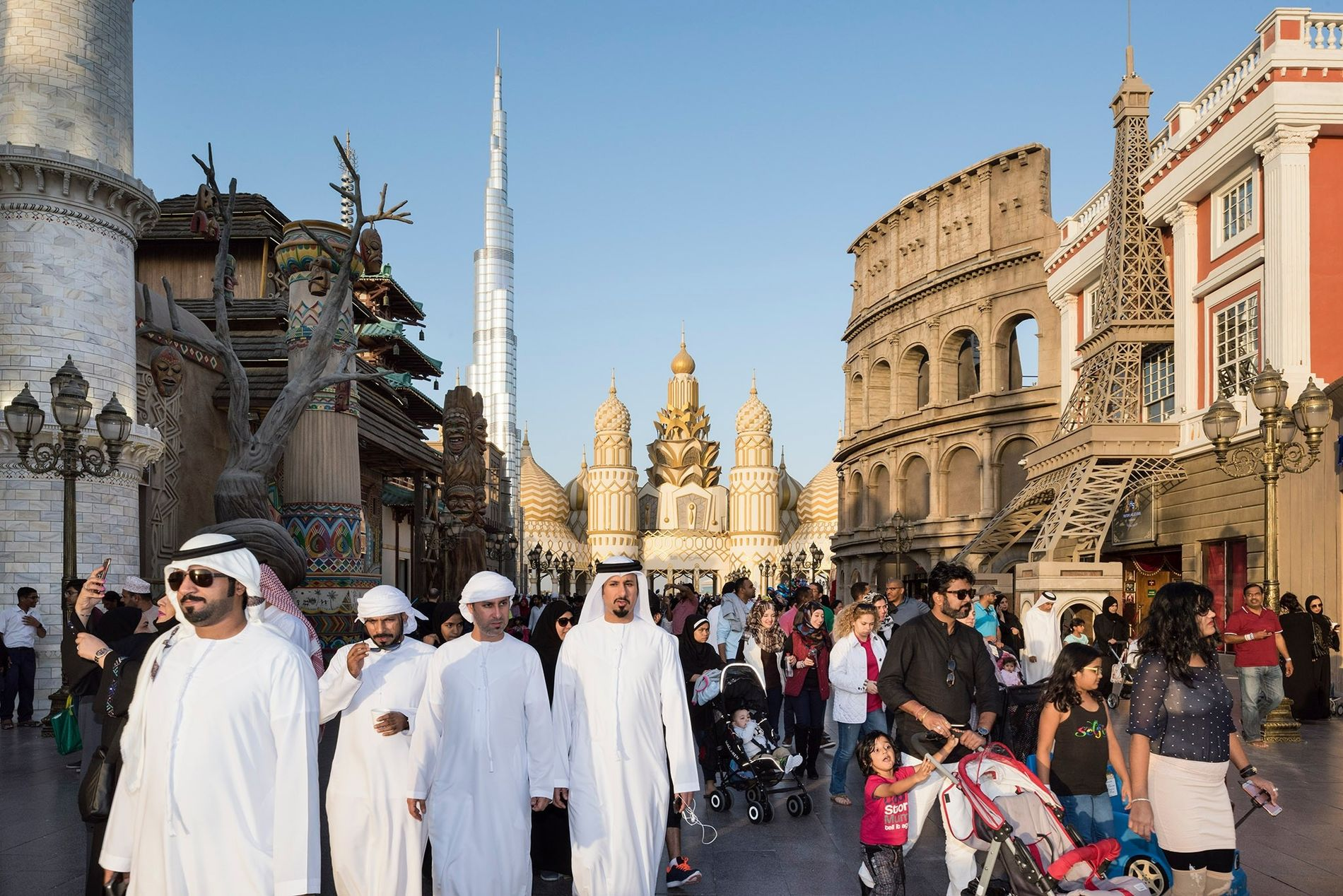 Go inside the Middle East's ultramodern city of extravagance