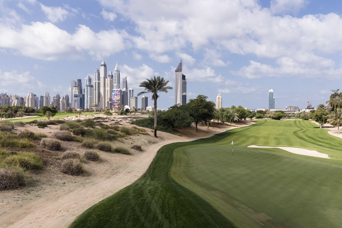 Emirates Golf Club was the first all-grass championship golf course in the Middle East when it ...