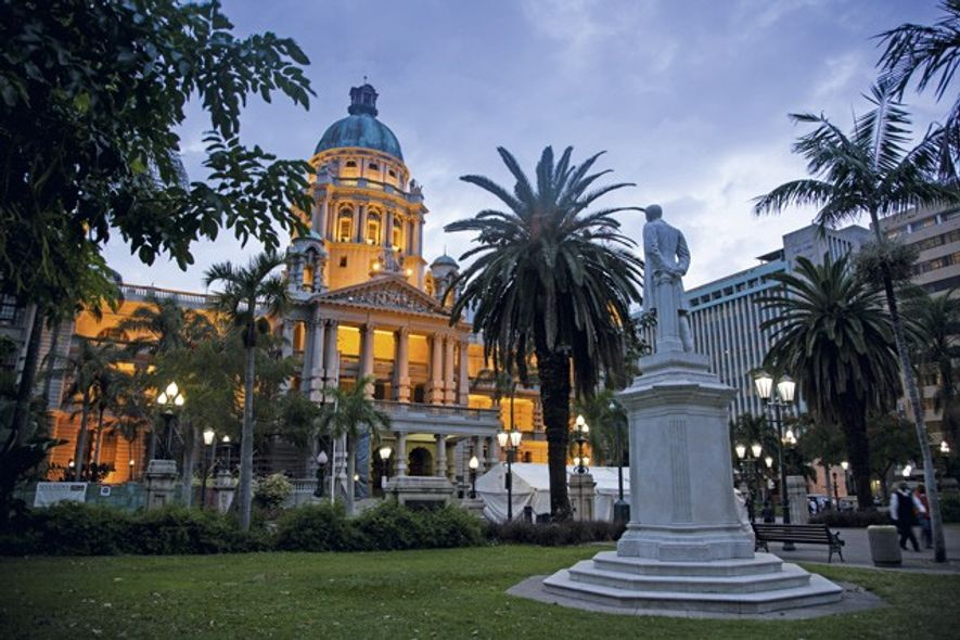 City Hall, which houses a selection of heritage museums. Image: Teagan Cunniffe