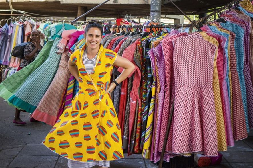 Local traders filling Durban's markets just outside the inner city. Images: Teagan Cunniffe