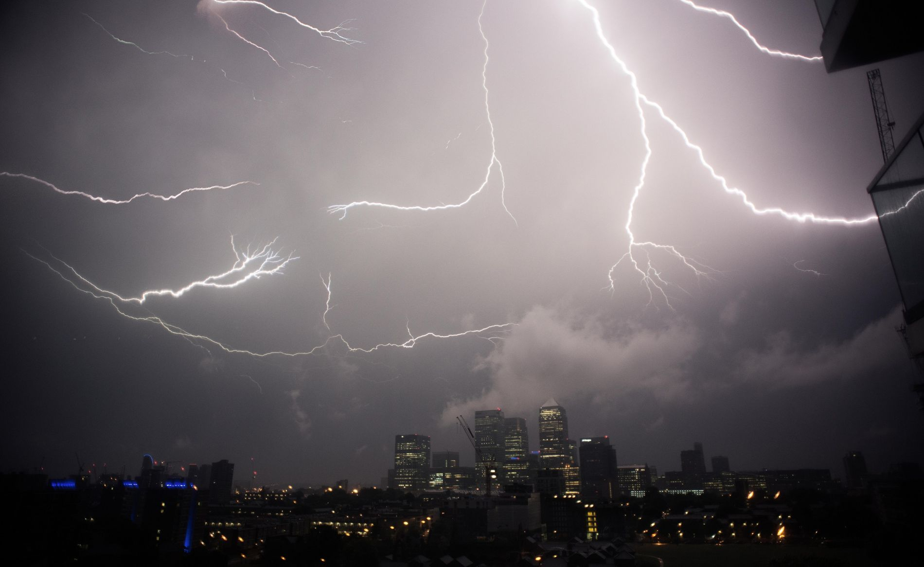 Lightning crackles in the skies above London. In a world increasingly dependent on technology, how the ...
