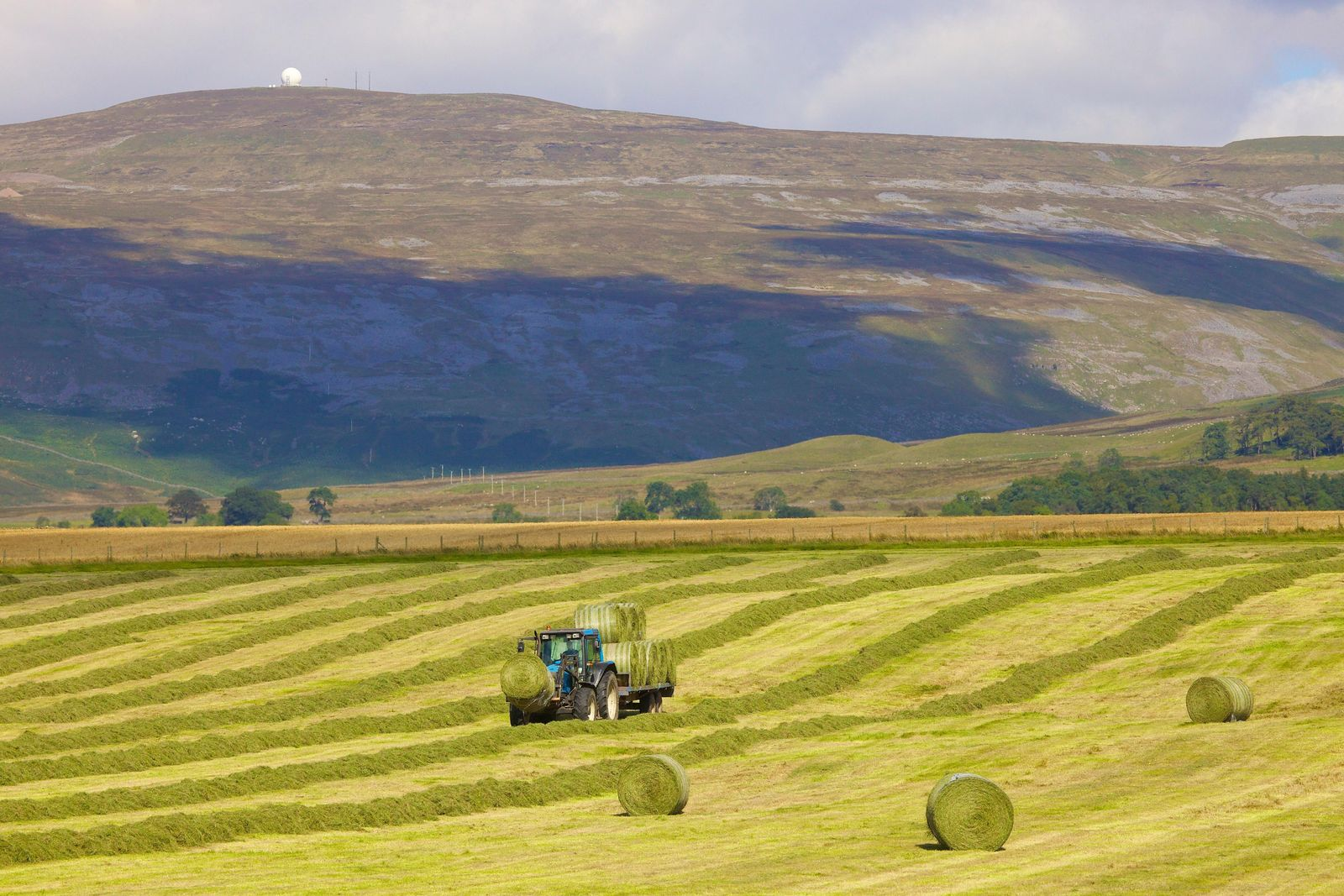 Great Dun Fell, in the Pennines, is home to a radar 'golf ball', and a meteorological ...