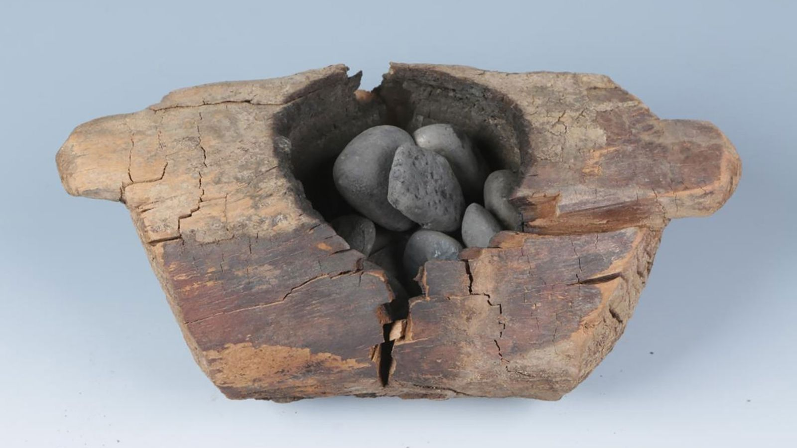 2,500-year-old burials at Jirzankal Cemetery in western China feature wooden braziers that burned cannabis plants containing ...