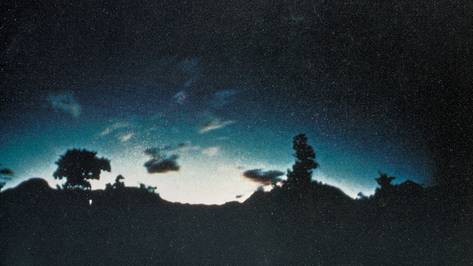 This is the most well-known photo of earthquake lights, taken over Mt. Kimyo in Japan in ...