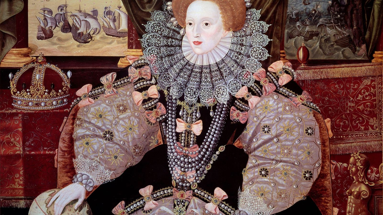 Queen Elizabeth I of England.