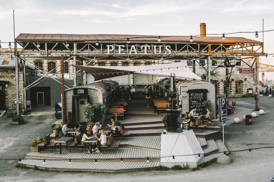 Peatus restaurant in Telliskivi Creative City.