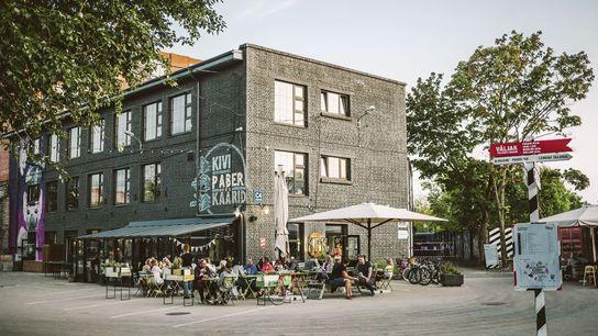 Restaurant Kivi Paber Käärid in Telliskivi Creative City
