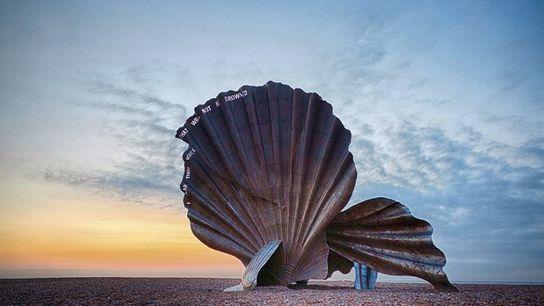 Aldeburgh Scallop shell.