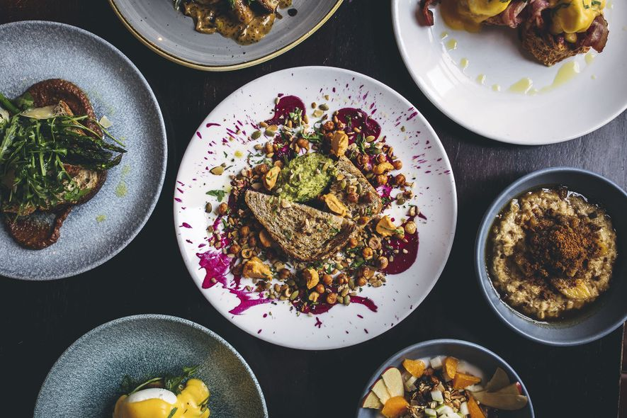Dishes at Charley Noble
