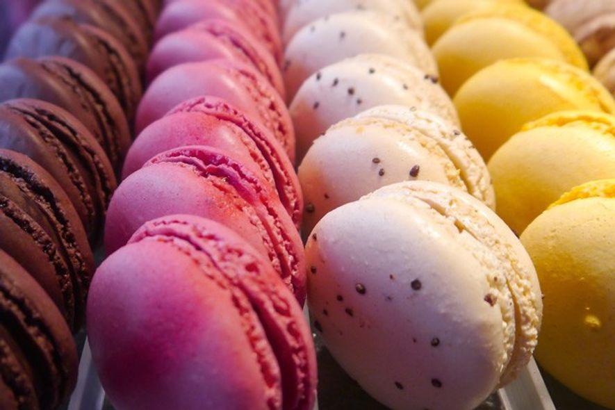 Macarons from Vincent Guerlais, Nantes, France. Image: Audrey Gillian