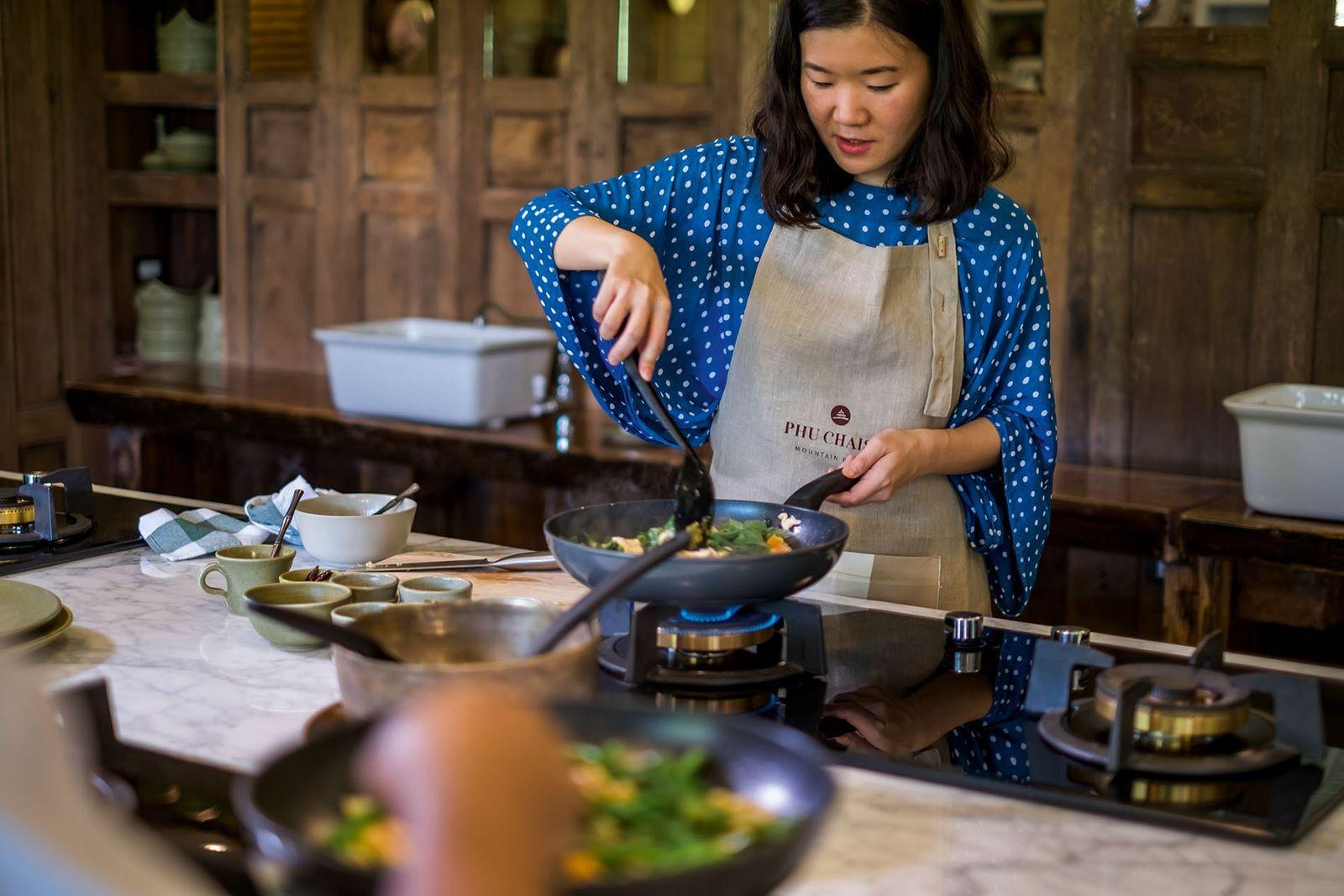 Phu Chaisai Mountain Resort cooking class