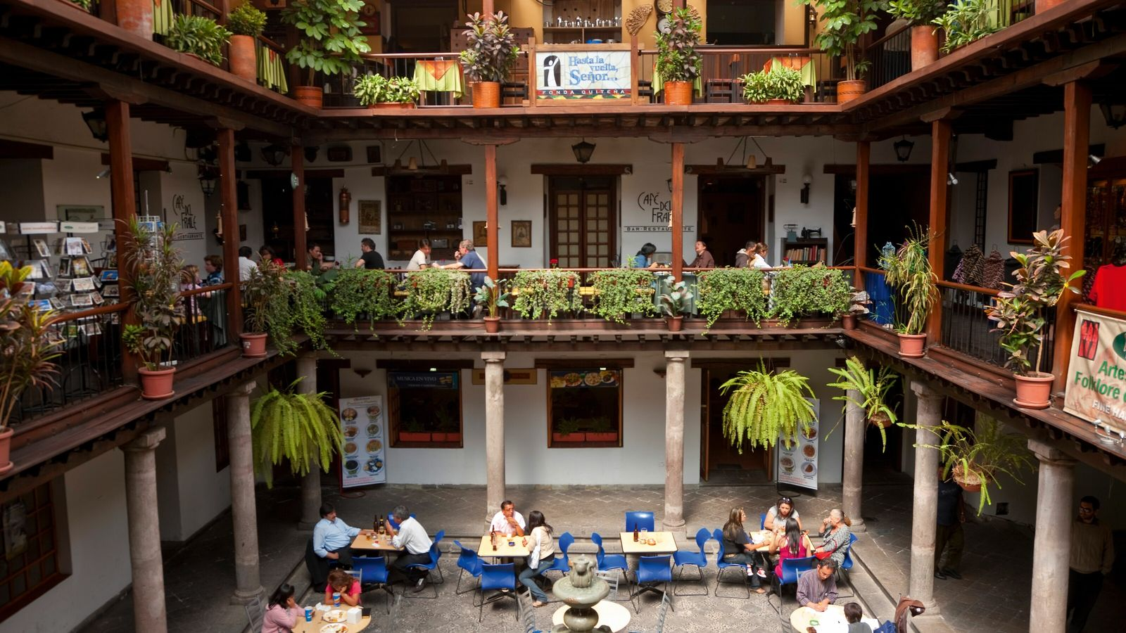 When it comes to cuisine, the value of putting Ecuador's astonishing larder to the fore has ...