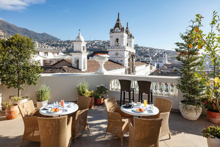 A veritable local institution, the grand hotel Casa Gangotena has been here in one form or ...