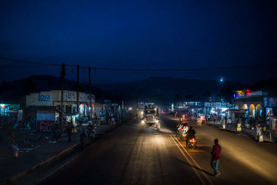 One of the barriers to containing Ebola has been poor security in North Kivu. Here United ...