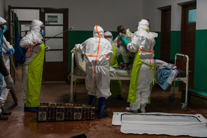 A young girl died soon after reaching the hospital and was tested for Ebola post-mortem. All ...