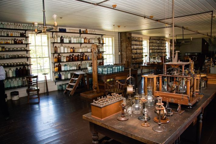 In 1876, tired of arguing with Newark landlords, Edison decided to build his own laboratory in ...