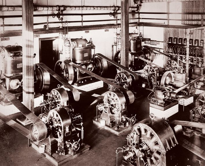 Because AC current was more efficient than DC for transmitting over long distances , Westinghouse could ...