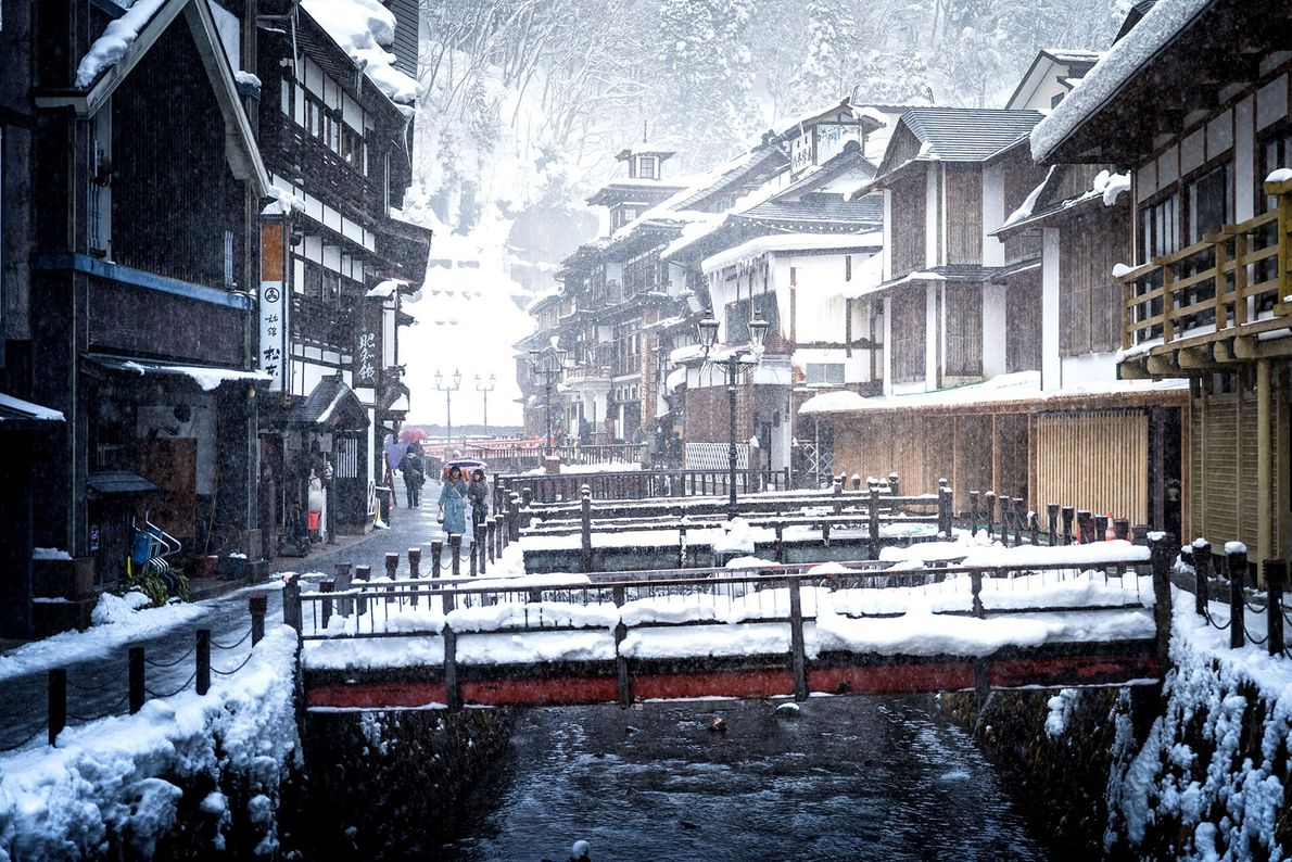Ginzan Onsen, a hot spring town, was once a mining hotspot — around 400 years ago, ...